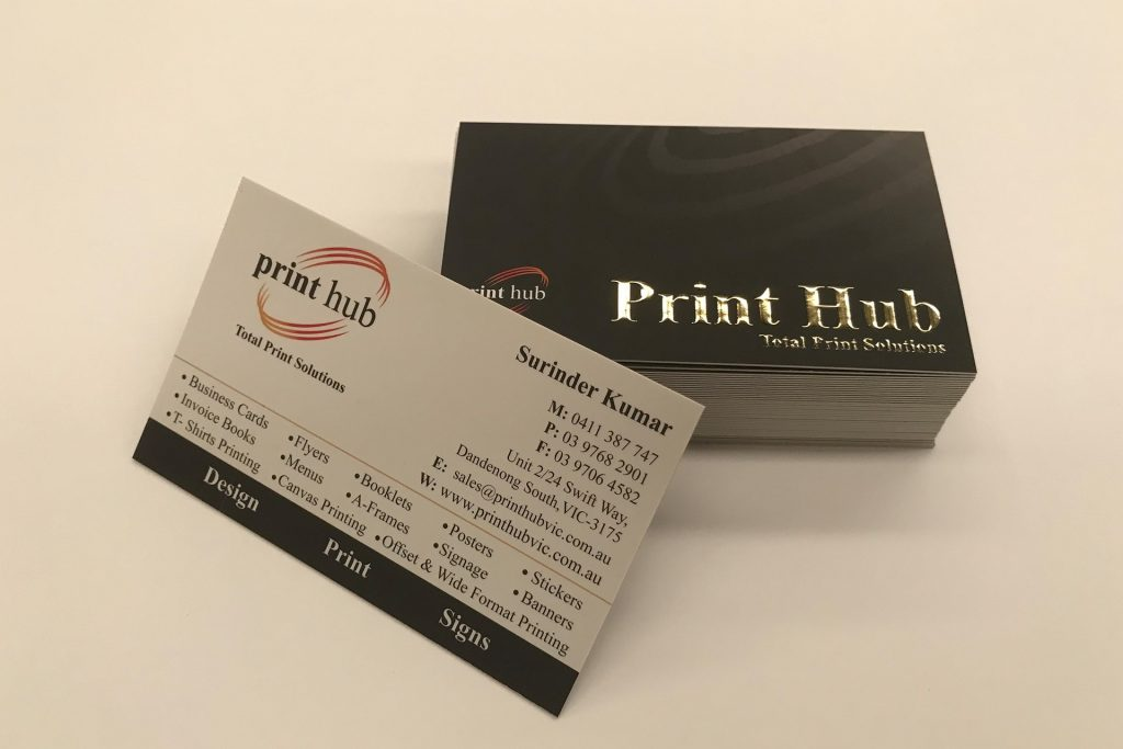 Business Card Gallery