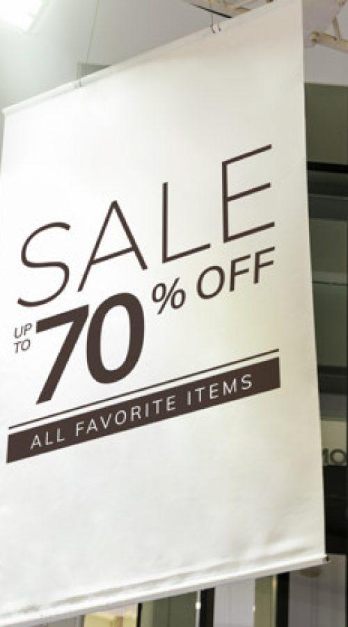 Retail Store Signage
